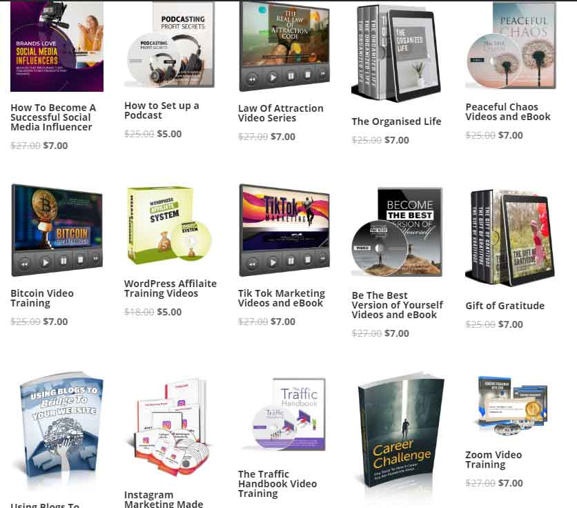 PLR-Products